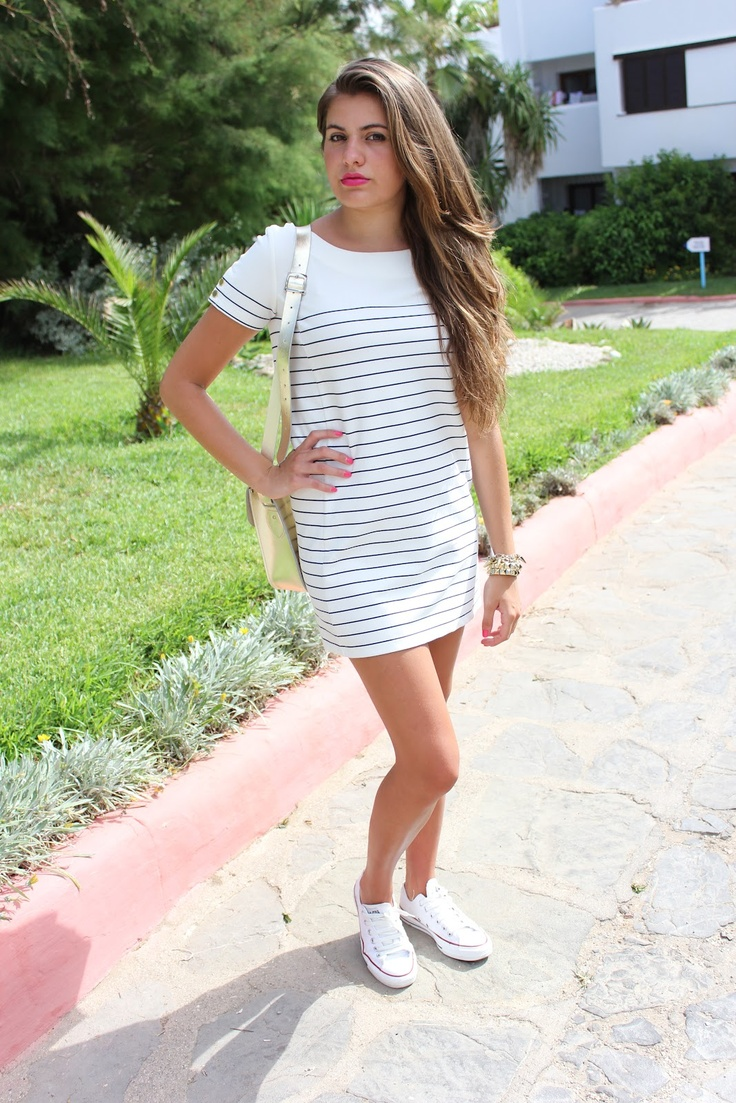 pics for gt white converse dress
