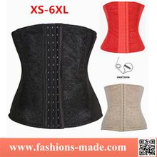 New Breathable Lace Waist Cincher Steel Boned Plus size Corset Best Seller follow this link http://shopingayo.space
