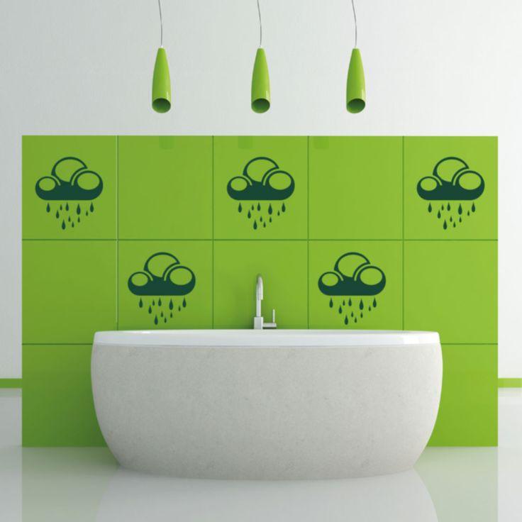 Yli tuhat ideaa Wandtattoo Wolken Pinterestissä Aufkleber shop - wandtattoo für badezimmer