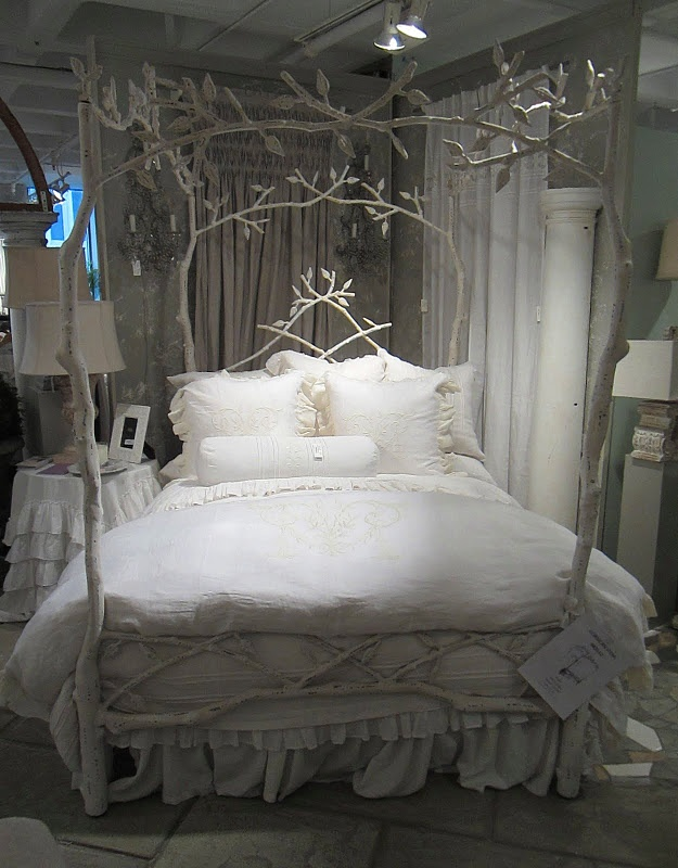 an iron bed designed to look like tree branches - Beautiful Bed Frames