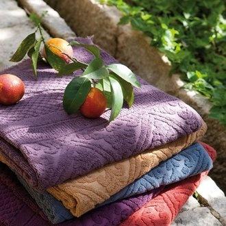 Serviettes de bain - VIVARAISE | Linge de maison et linge de bain | A découvrir par ici : http://www.ma-maison-deco.com/173-produits-linge-de-maison.html