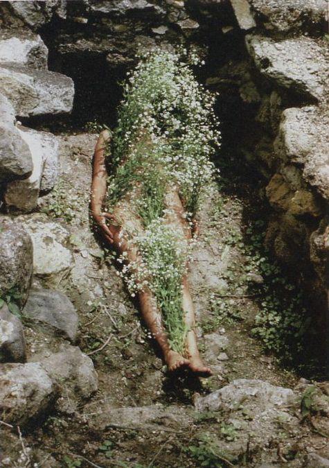 Ana Mendieta, Silueta series, 1973-77