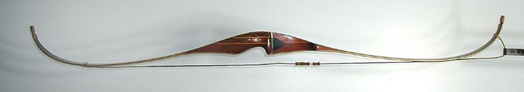 Vintage recurve hunting bow Ben Pearson 56 inch 45#
