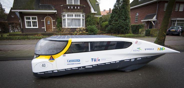 ¿Cómo funciona el coche solar? - http://hombresconestilo.com/como-funciona-el-coche-solar/
