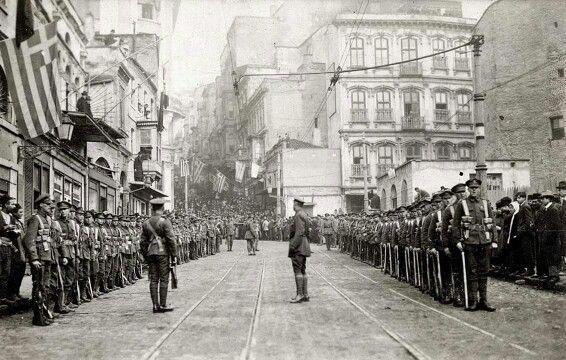 Karaköy işgal yılları