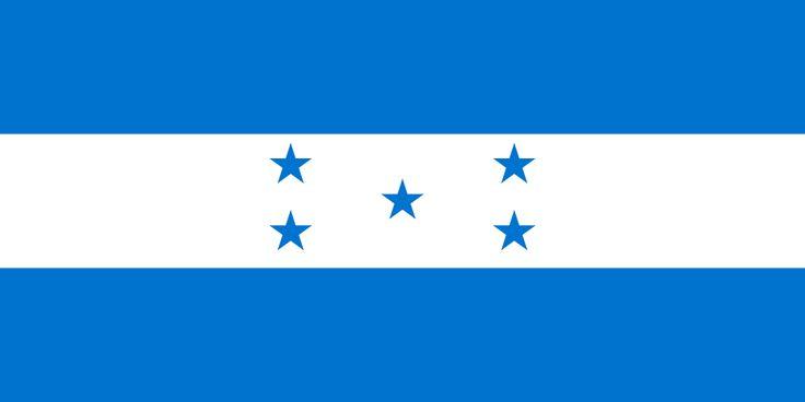 Flag of Honduras - Bandeiras da América do Norte – Wikipédia, a enciclopédia livre