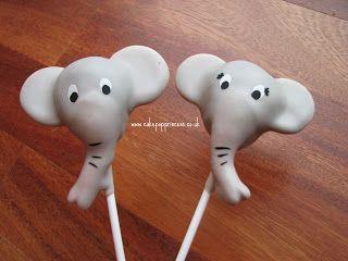 Cakeriffic - Elephant Cake Pops