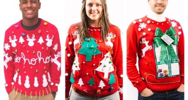 El negocio de los jerséis feos triunfa en Navidad