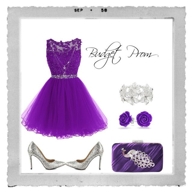 """Budget Prom :)"" by simone-kelly-coad-lutwyche ❤ liked on Polyvore featuring Polaroid, Penny Loves Kenny, Jacki Design, Bling Jewelry, M&Co and Charlotte Russe"