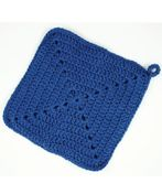 Free pattern: granny square potholder