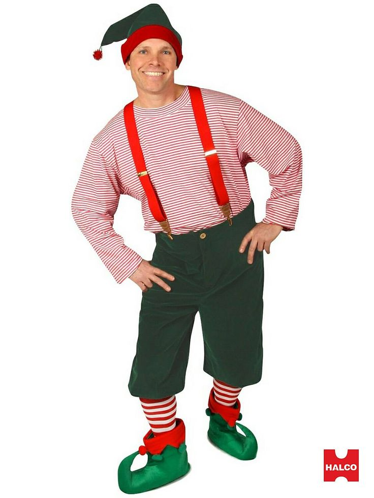 Workshop Elf Costume | Mens Christmas Halloween Costumes - Sparky?