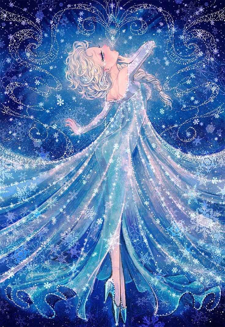 Elsa, Frozen de Disney