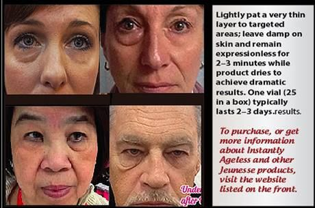 Instructions for Using Instantly Ageless