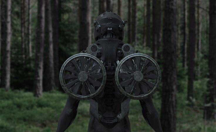 Project Icarus - visual render, Daniele Trevisan on ArtStation at https://www.artstation.com/artwork/project-icarus-visual-render