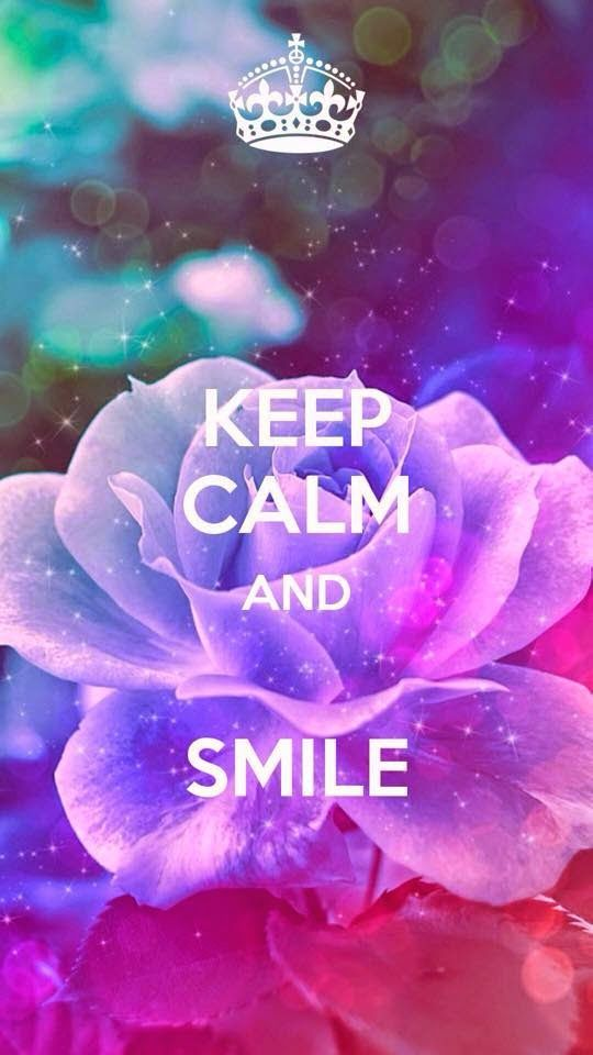 Keep Calm and smile - Quotes