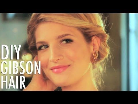 DIY Hair: Gibson Roll with Mr. Kate