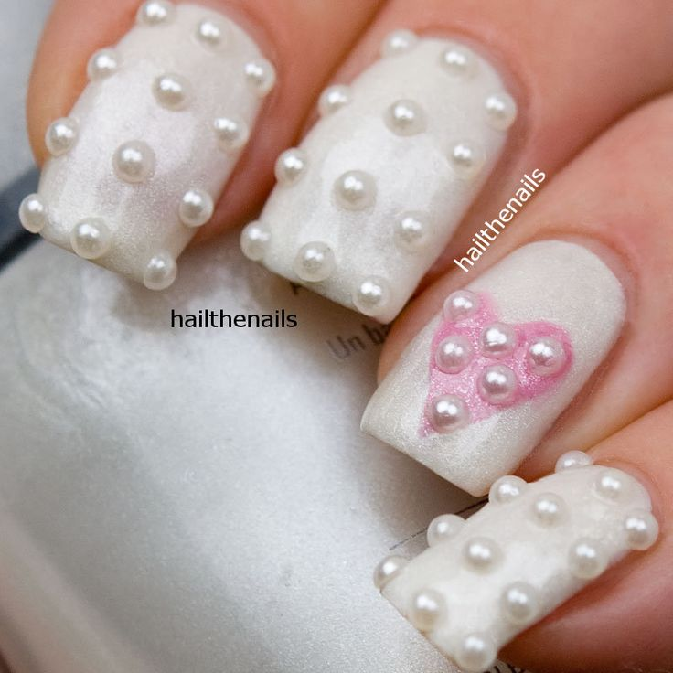 Pearl Studs Nail Art - This seasons must have nails. 150 pearls per pack. - Best 25+ Pearl Nail Art Ideas On Pinterest Chrome Nail Colors