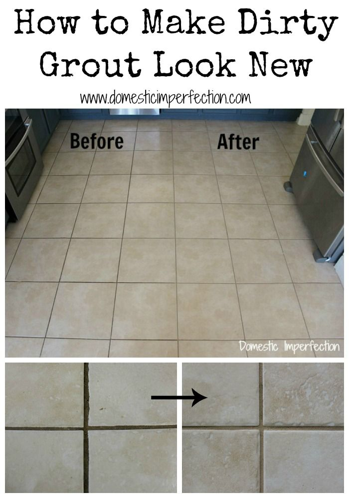 How To Make Dirty Grout Look New Brand New Tile And It 39 S Pat