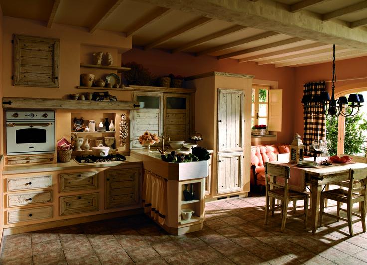 Giulietta di oggi finitura Cotone #zappalorto #tuscany #madeinitaly #country #kitchen #wood #chic #interior