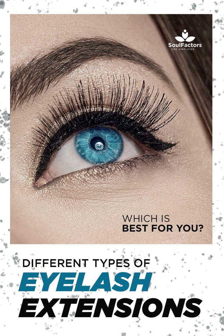 Different Types OF Eyelash Extensions in 2020 Eyelash