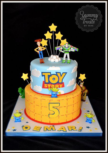 Toy Story Cake!   Flickr - Photo Sharing!