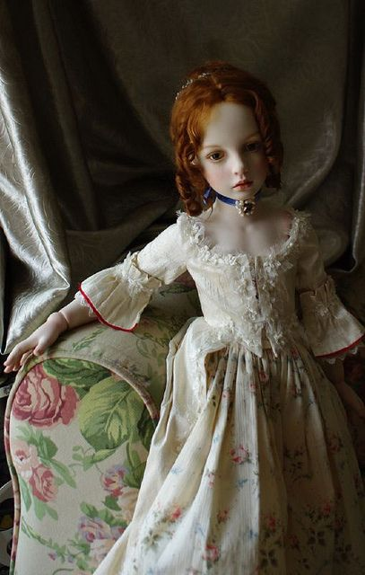 A repin of a doll of great beauty . . . who is the artist?