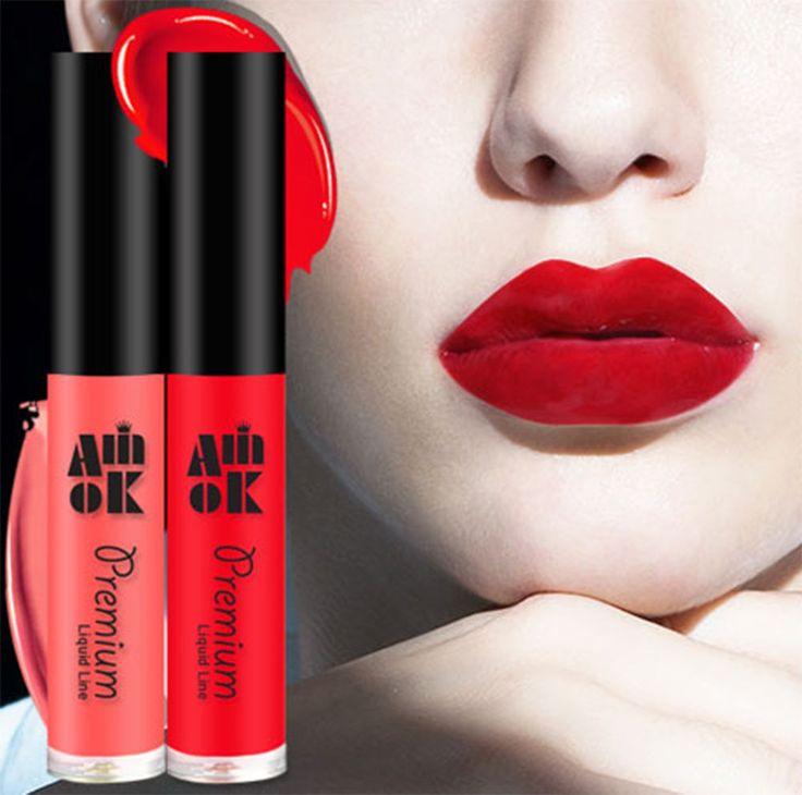 Amok Premium Multi Lips 8 Color Waterproof Long Lasting Matt Lip Tint #AMOK