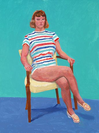 82 Portraits and 1 Still Life : Paintings : Works | David Hockney