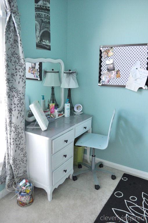 Dylan Room Decor Aqua Blue