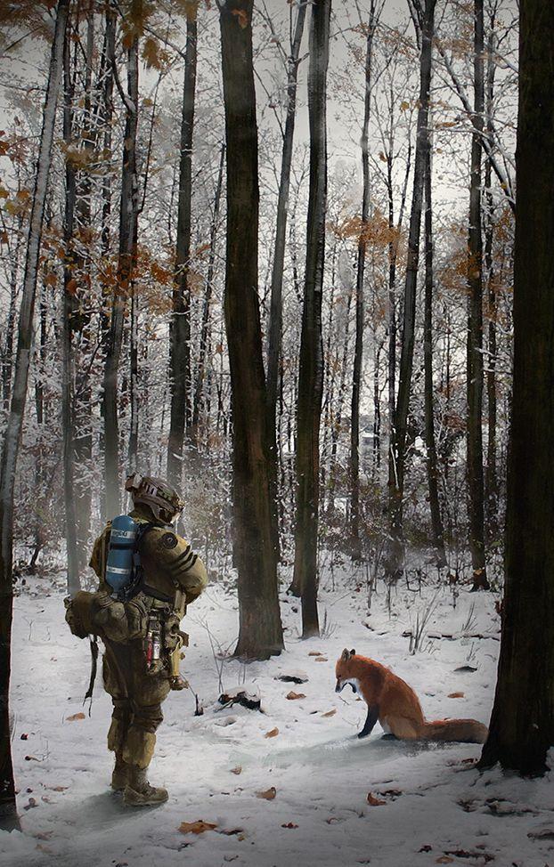 Forest patrol by LMorse on deviantART § Interesting art ...