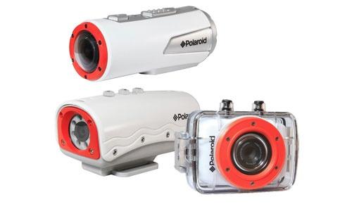 Polaroid's Orange Submarines: XS7, XS100, and XS20 HD Sport Video Cameras