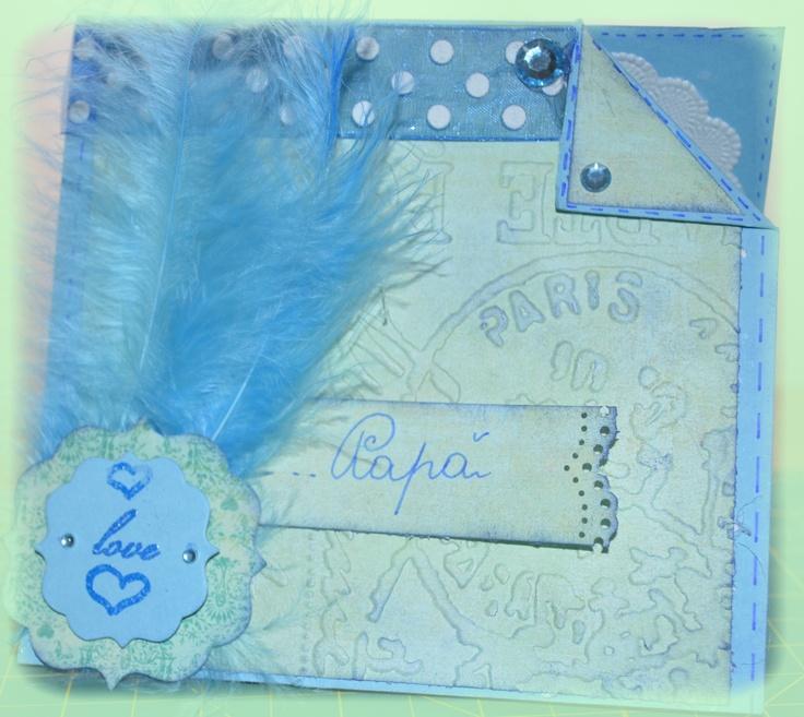 Una mia card per la festa del papà