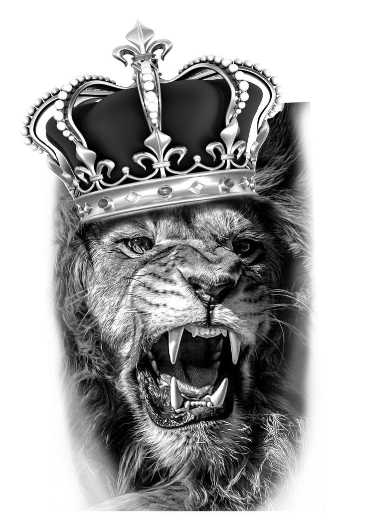 попадают женщины, картинка на обои лев в короне кисточки для