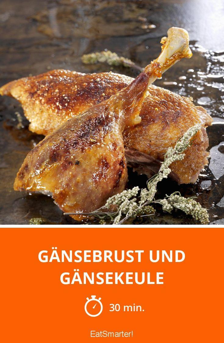 Gänsebrust und Gänsekeule - smarter - Zeit: 30 Min. | eatsmarter.de