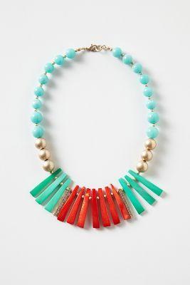 Dejima Comb Necklace
