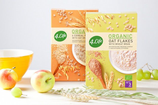 4LIFE's Organic Food Packaging Embodies Vibrant Clean Eating #healthy trendhunter.com