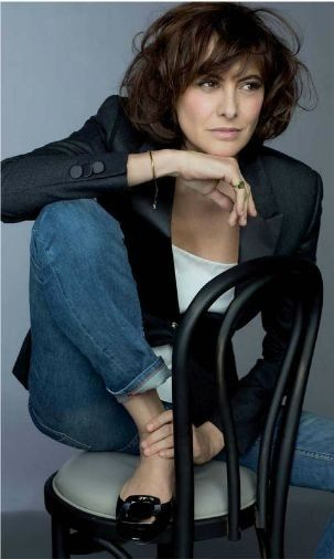 Ines De La Fressange Hair Fashion Pinterest Tousled