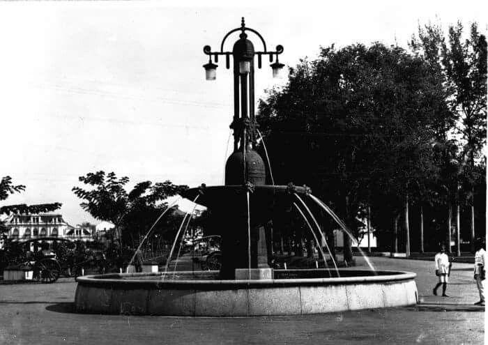 Air mancur Nienhuys, Medan 1918