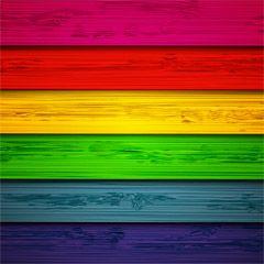 [フリーイラスト素材] イラスト, 背景, テクスチャ, 木材, 木目, カラフル, 縞模様, EPS ID:201410092300