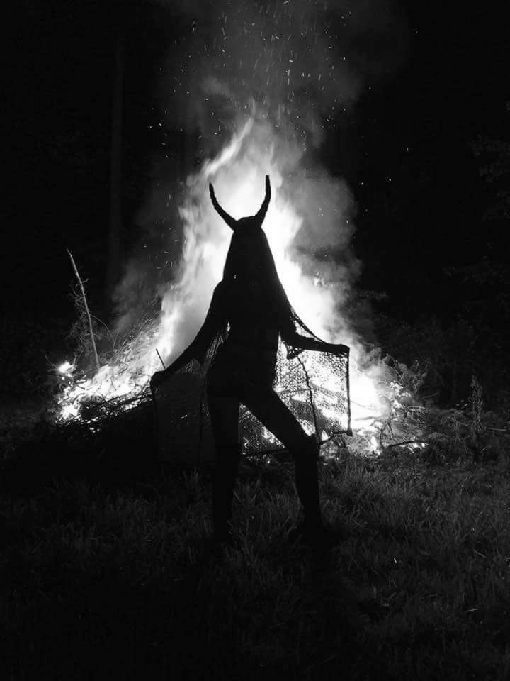 Bow down to your horned Goddess!                                                                                                                                                                                 More