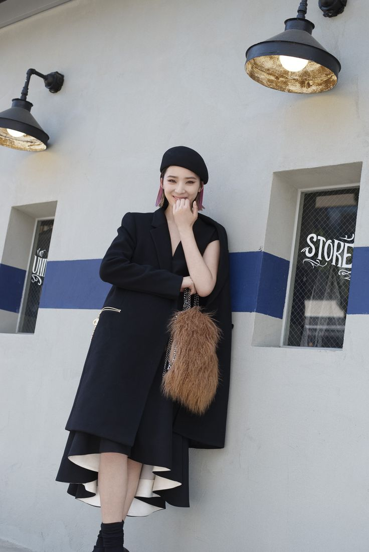 9 best one city one girl seoul images on pinterest irene kim with her rainbow hair and irreverent approach to fashion model irene kim cuts a cool ccuart Choice Image