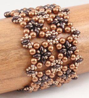 Instructions for Square Deal Bracelet Beading por njdesigns1