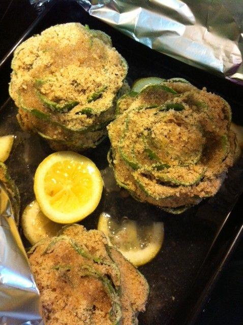 Miss Muffets Muffins: Italian Stuffed Artichokes