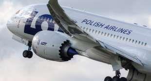 Samolot LOT-u Dreamliner 787-8 (Fot. PLL LOT) - gazeta.pl