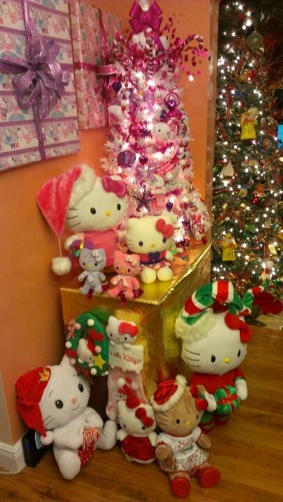 Hello Kitty Christmas Tree And Decor Hello Kitty