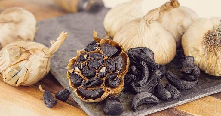 Developed in korea black garlic has been gaining