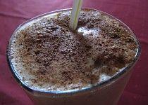 Krušnohorská ledová káva