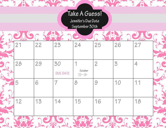 Baby shower betting calendar shushu csgo betting