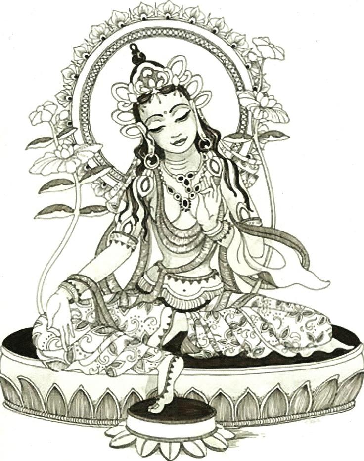 Drawing The Line Tattoos Tara Mccabe : Ideas about green tara on pinterest buddhist art