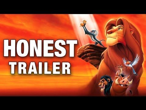 Honest Trailers - The Lion King http://youtu.be/DFtBjc1dz7w